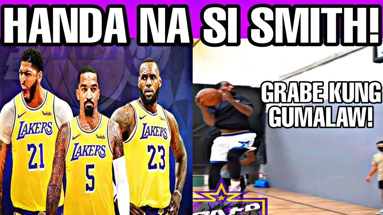 JR Smith handa na sa pagbabalik para sa Lakers! Grabe parin ang laruan!
