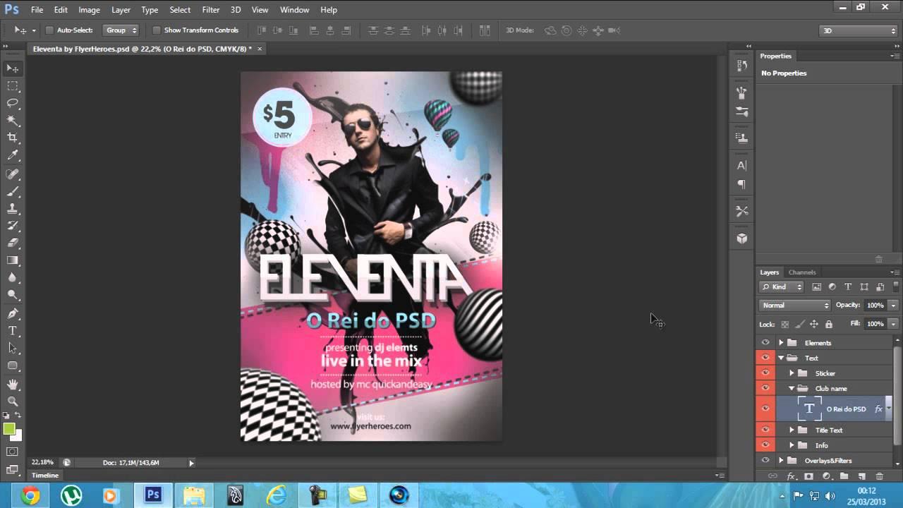 flyer eleventa em psd edit u00e1vel - download gratis