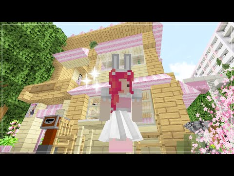 Minecraft Maids BUILDING NEW THINGS ♡