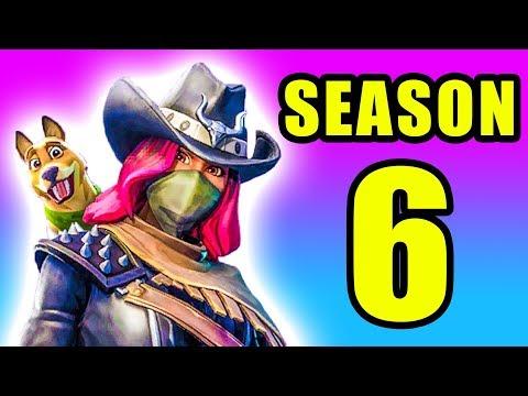 Season 6 UPDATE! ⚠️ Fortnite Battle Royale Season 6 Gameplay