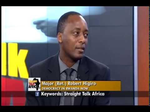 Straight Talk Africa Guest Major Robert Higiro on Rwanda ...