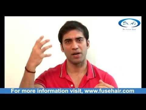 Celebrity Hair Transplant: Bollywood actor Khushal Punjabi