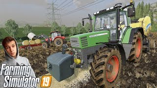 """""""Od Zera Do Milionera"""" #3 Farming Simulator 19Prasowanie, Zbieranie & Sprzedaż Belek ★Case Bokiem"""
