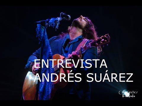 ANDRÉS SUÁREZ GIRA 'MI PEQUEÑA HISTORIA' EN EL BARCLAYCARD CENTER | ENTREVISTA | NOVIEMBRE 2016