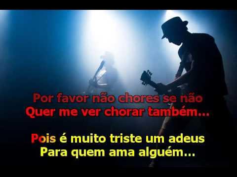 Borba de Paula  -  Tchau Tchau Amor - Karaoke