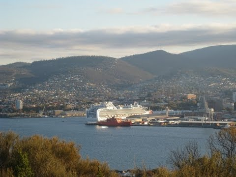 Australia, Tasmania - Port of Hobart