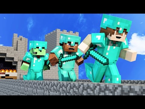 OVER 100 vs 3 ULTIMATE MINECRAFT BRIDGES SKY ISLAND WAR!