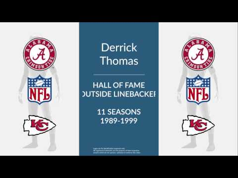 Derrick Thomas: Hall of Fame Football Outside Linebacker