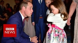What did this girl teach Prince William? - BBC News