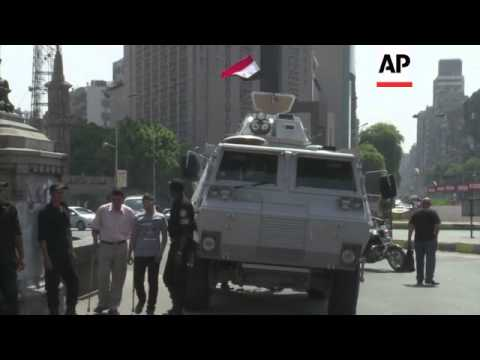 Egypt military tightens control on key institutions including state TV