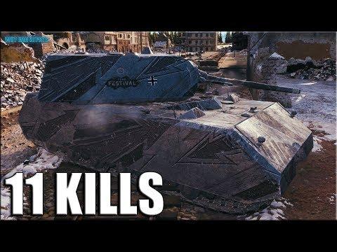 Зажали ТОЛПОЙ МАУСА и ОТГРЕБЛИ ✅ World of Tanks Maus лучший бой