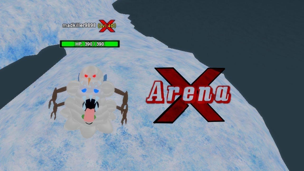 Roblox Arena X Codes