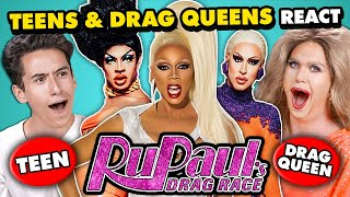 Teens And Drag Queens React To RuPaul's Drag Race