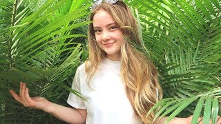 ASMR Greenhouse JUNGLE! Nature Sounds, Quiet Whispering, Hand Movements & Visuals