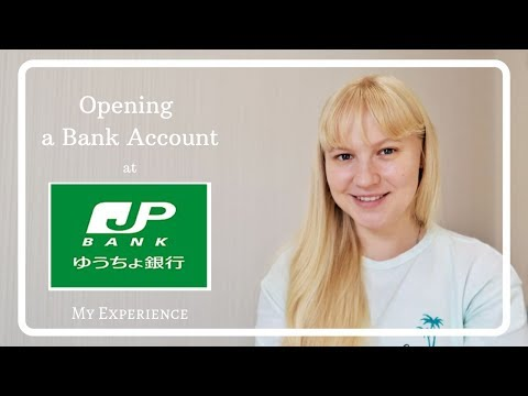 How To Open A JP Post Bank Account 💰