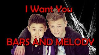 Bars and Melody - I Want You (Official Fan Video)