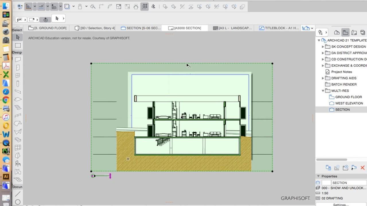ArchiCAD 21 - tutorial part 28 - navigator & layouts