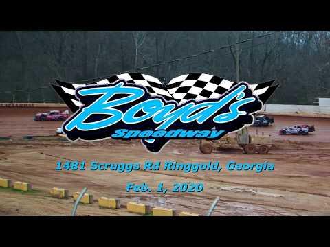 Super Stock @ Boyds Speedway Cabin Fever Feb  1 , 2020