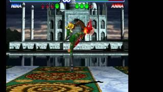 Tekken 2 - Nina Vs Anna - Vizzed.com GamePlay - User video
