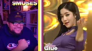 9MUSES(나인뮤지스) - GLUE LIVE REACTION | UNDERRATED BOPS ONLY #T…
