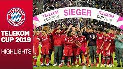 Der FC Bayern gewinnt den Telekom Cup 2019, Davies gibt Debüt