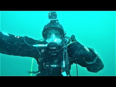 Shark encounter! Wreck Diving with Ocean Reef Full Face Mask.
