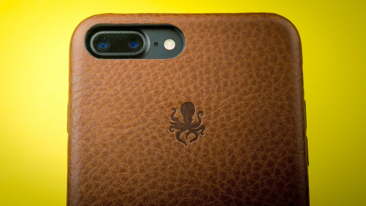 Iphone  Plus Leather Case Review