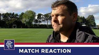 REACTION | Graeme Murty | Dundee Utd 1 - 2 Rangers Reserves