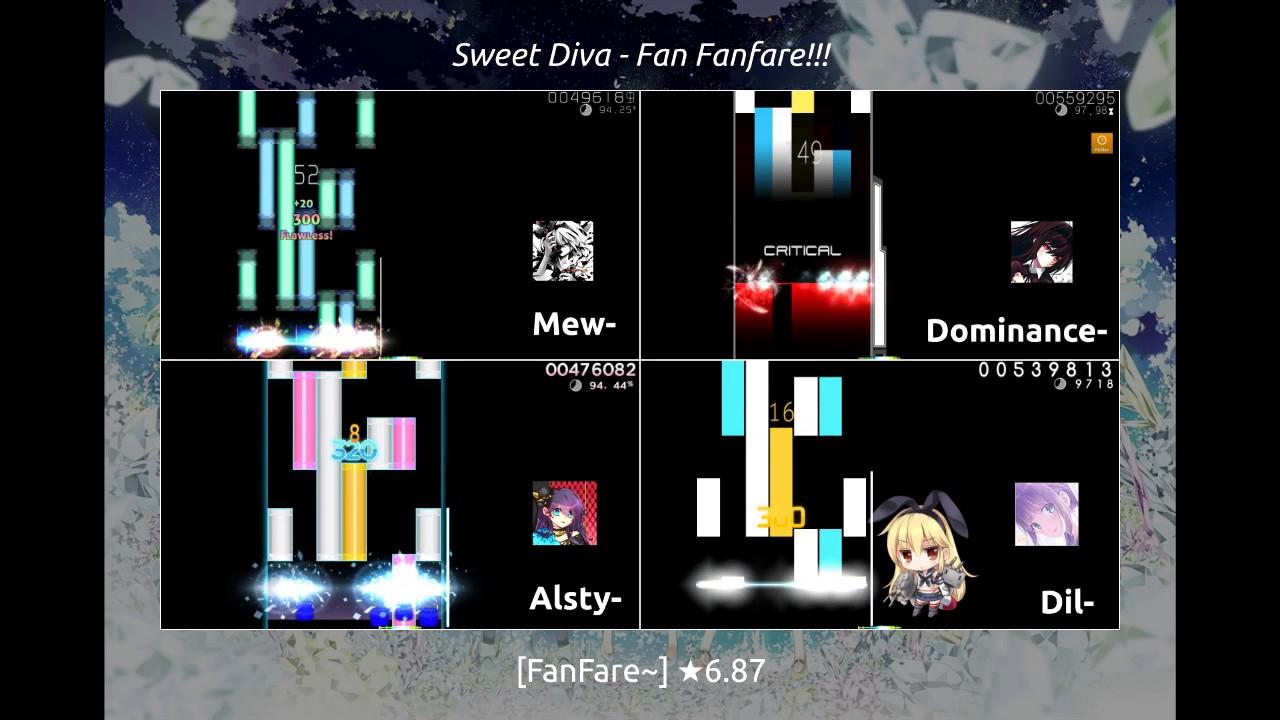 [osu!mania - 7K (collab)] - Fan Fanfare!!! [Fanfare~] by Serenade