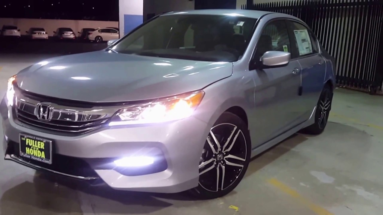 2017 Honda Accord Sport Review