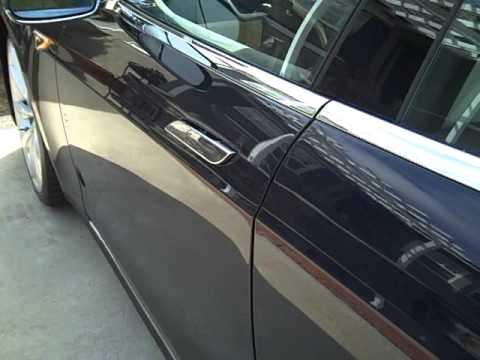 2013 Tesla Model S Door Handles & 2013 Tesla Model S Door Handles - YouTube
