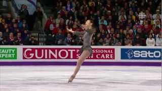 2013 Worlds Yuna Kim FS Les Miserables (CBC)