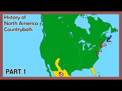 History of North America (Countryballs) - Part 1 - New World