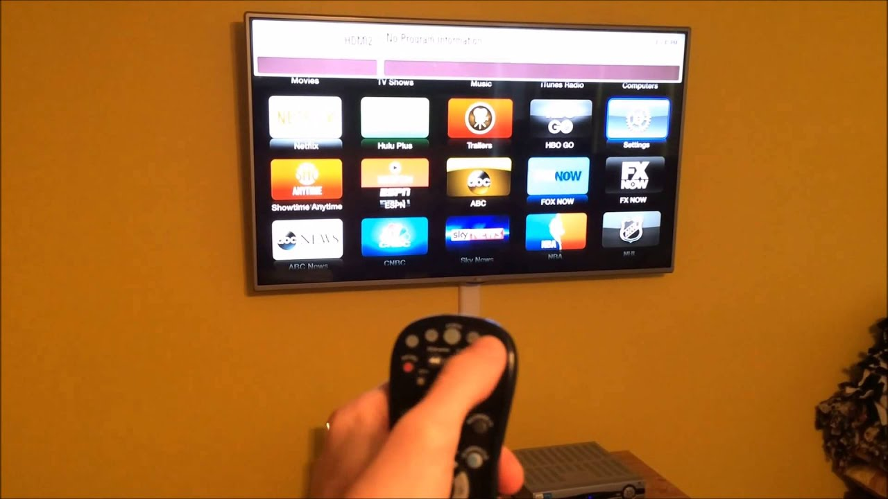 how to connect apple tv to lg tv