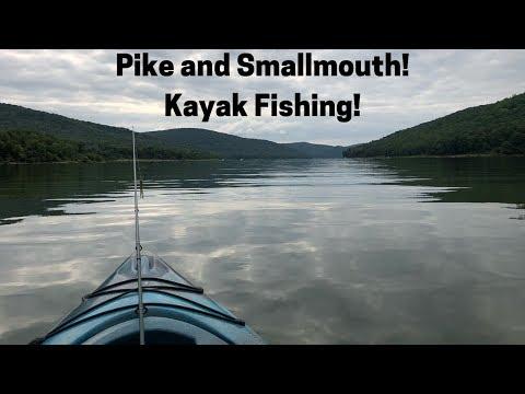 Kayak Fishing The Allegheny Reservoir (Sugar Bay) 2018