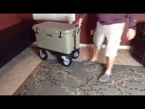 How to make RTIC YETI Cooler Wheel Kit -EASY & CHEAP
