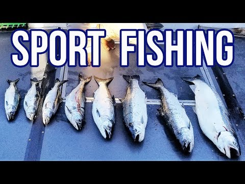 Lake Ontario Sport Fishing Adventure - We Caught BIG Salmon And Trout Fish