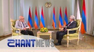 ՀՀ վարչապետ Սերժ Սարգսյանի հարցազրույցը «Շանթ» հեռուստաընկերությանը