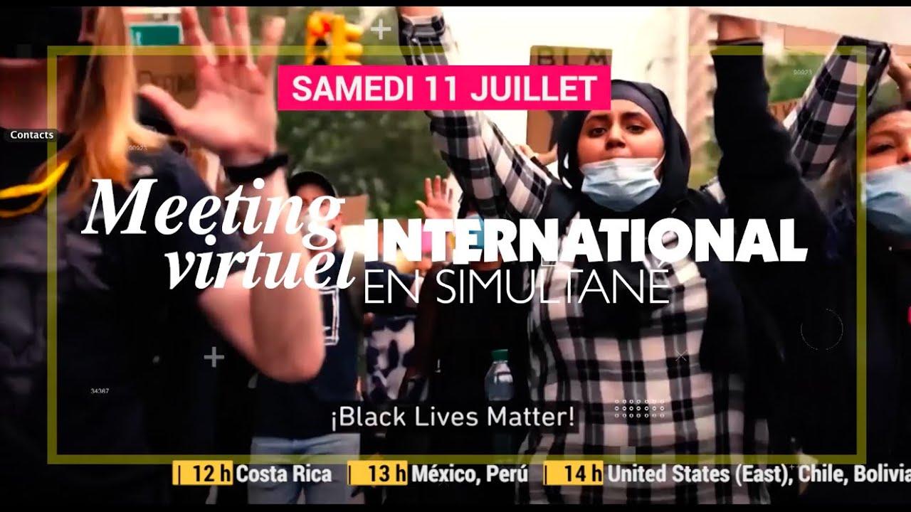 Samedi 11 juillet à 20h, grand meeting international contre le racisme et les violences policières