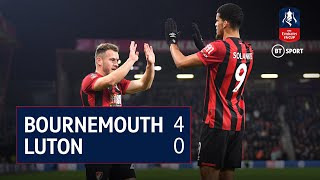Bournemouth v Luton (4-0) | FA Cup Highlights