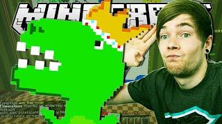 Minecraft | KING DINOSAUR!! | Pixel Painters Minigame thumbnail