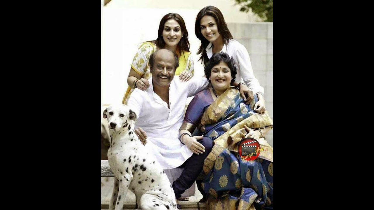 Rajinikanth Family Super Star rajinikanth...