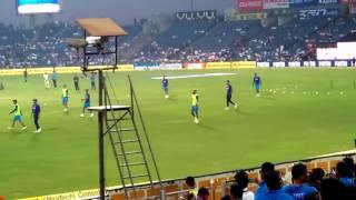 Indian Team At MCA pune stadium