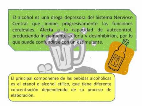 El vídeo la profiláctica del alcoholismo a los adolescentes