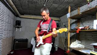 GARY MOORE - Cold day in hell cover -  STRAT HOT ROD 57 - VOX AC 30 CC2 - BLACKSTAR HT DUAL