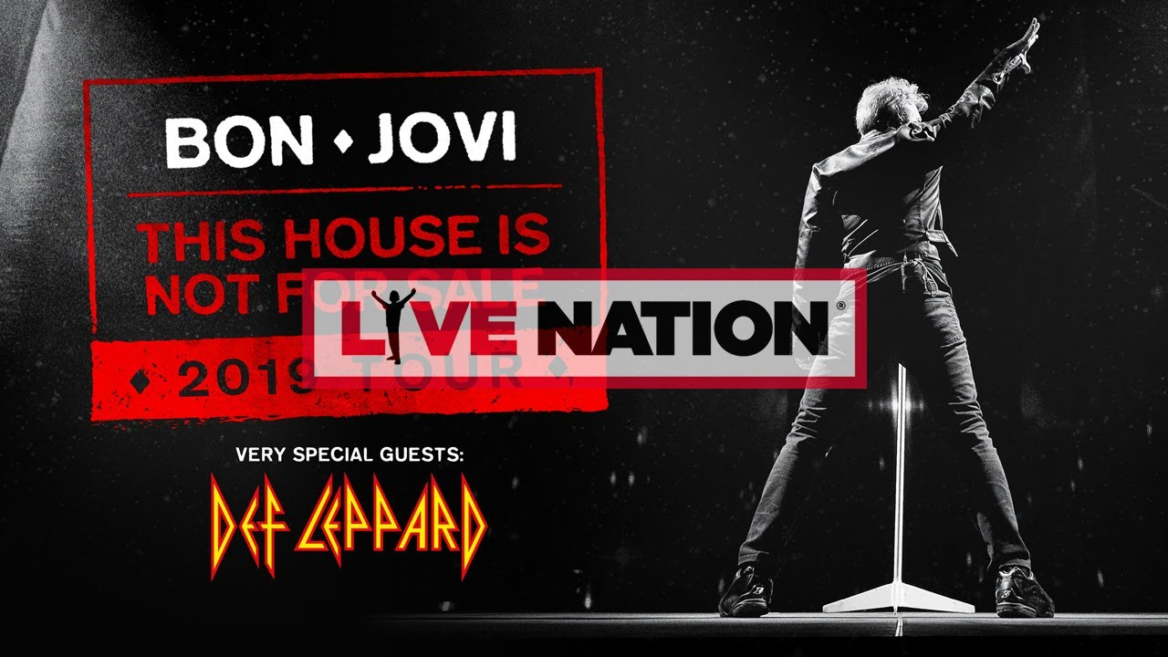 Bon Jovi This House Is Not For Sale Tour 2019 Live Nation Gsa