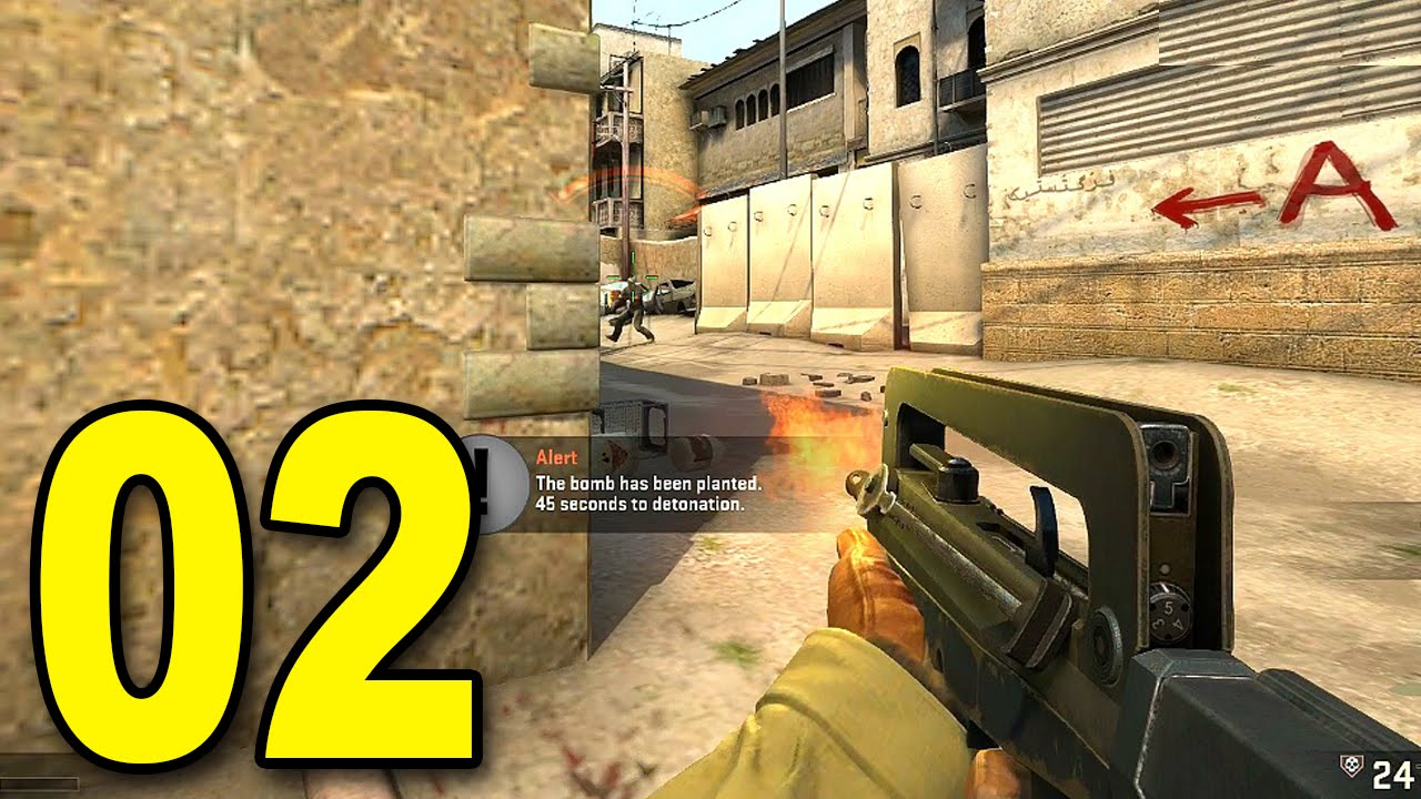 CS:GO - Part 2 - Playing with Brock (CounterStrike: Global Offensive Gameplay) thumbnail