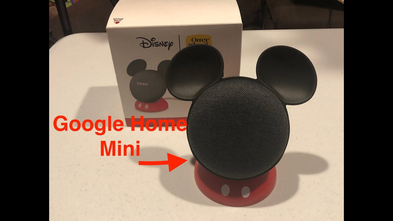 sale retailer 4e7e8 94064 OtterBox Mickey Mouse Google Home Mini Holder