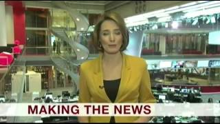 BBC News  New Studio first program GMT