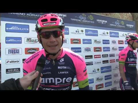 """Pozzato vuole """"fare bene"""" nella 3a tappa della Tirreno - Adriatico 2015"""
